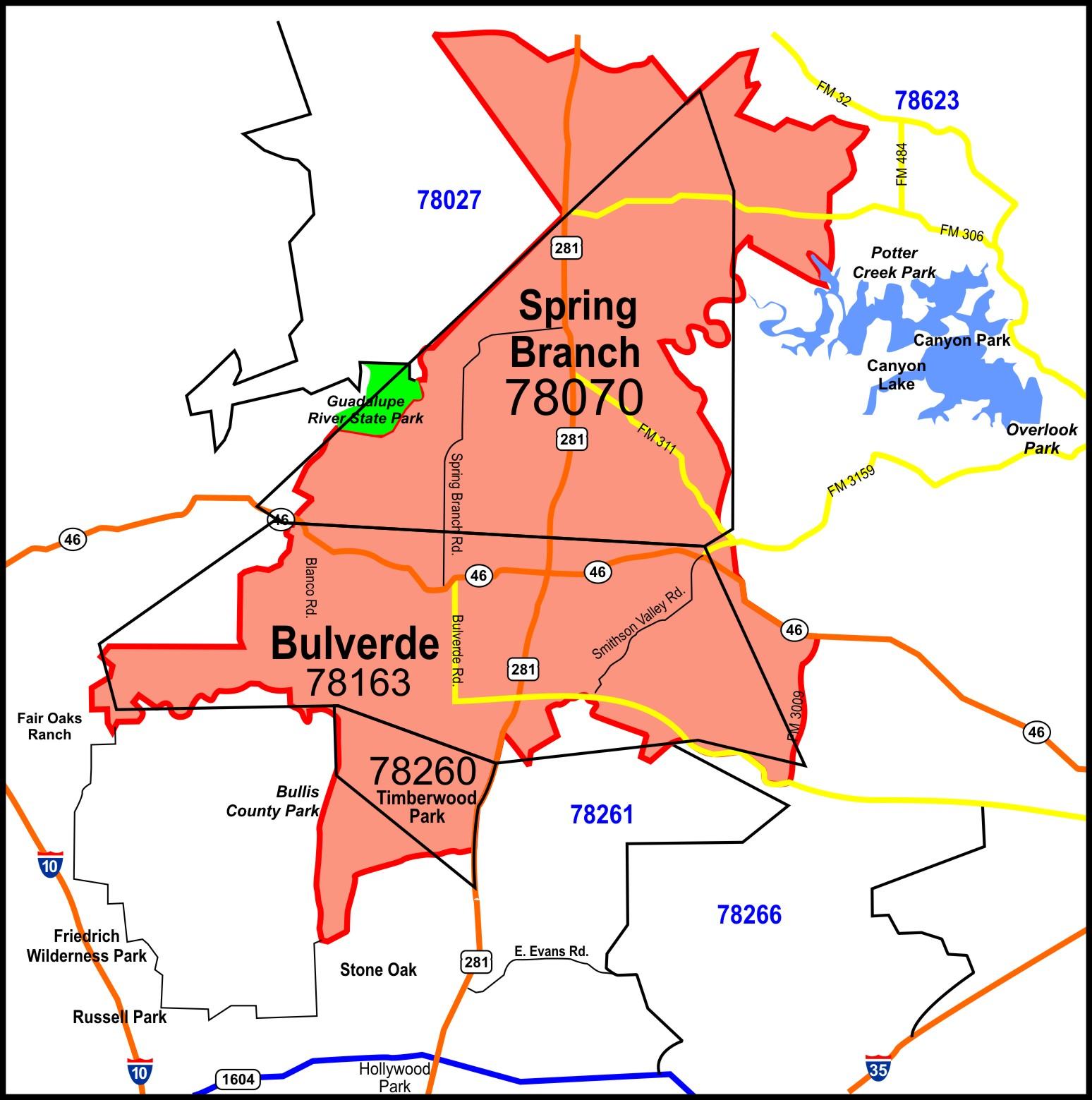 Demographics By Zip Code Map.Demographics Labor Data Bulverde Spring Branch Texas Edf